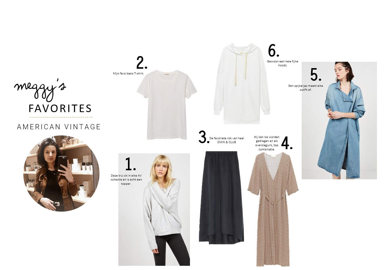 AMERICAN VINTAGE SS19 FAVORITES | OWNER & FASHION STYLIST MEGGY | moscowwebshop.com