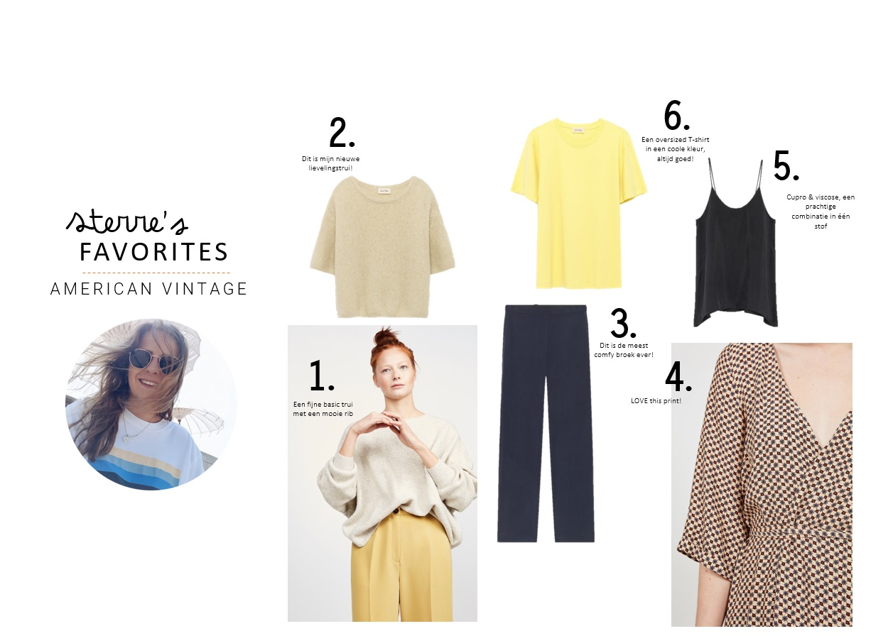 AMERICAN VINTAGE SS19 FAVORITES   WEBSHOP SPECIALIST STERRE   moscowwebshop.com