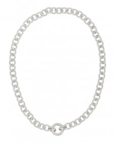 Fashionology Circle necklace silver ketting