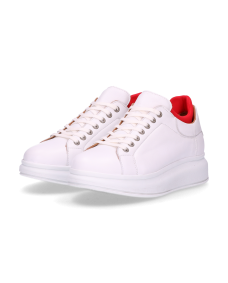 Shabbies Amsterdam SS19 101020032 sneakers white + red