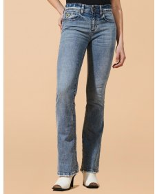 Lois Melrose jeans flare stone wash
