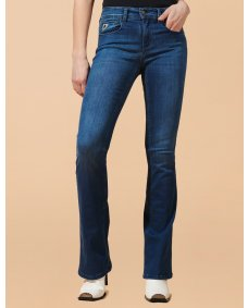 Lois Melrose jeans flare teal stone