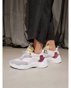 Iro Paris curve runner sneakers lilas