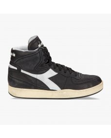 Diadora MI basket herritage sneakers black / white