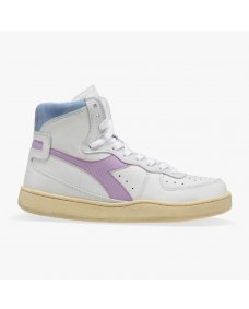 Diadora Mi basket used sneakers white / viola / winter sky