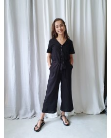 Designers Society 35350 jumpsuit black