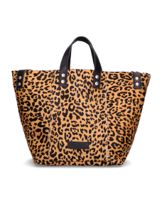 Shabbies Amsterdam SS19 282020018 shopper leopard pony cognac