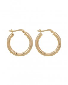 Fashionology Hollow 25mm gold gold oorbellen 25mm