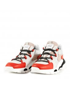 Toral SS19 sneakers TL-11101 off white / rojo