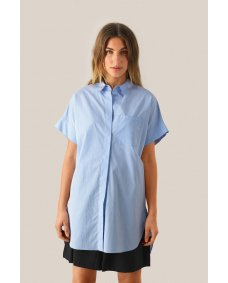 Second Female Heaven tuniek chambray blue