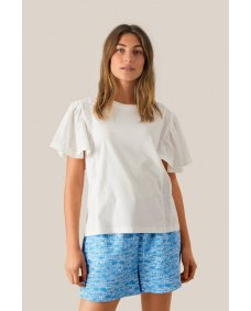Second Female Filippa T-shirt white alyssum