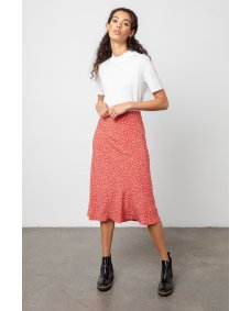 Rails London midi rok carmine daisies