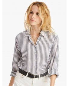 Xirena Beau blouse striped pacific