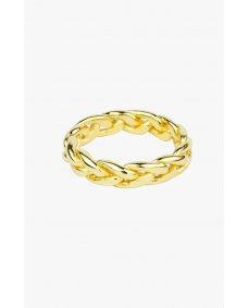 Wildthings Braided ring gold