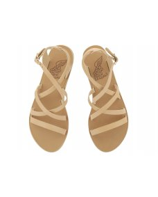 Ancient Greek Delia sandals neutral