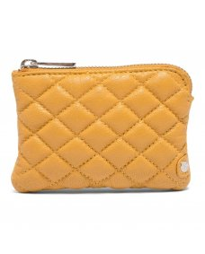 Depeche 13920 quilted portemonnee yellow
