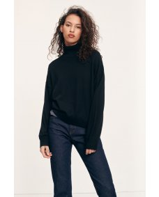 Samsoe Samsoe Kleo 111265 turtleneck black