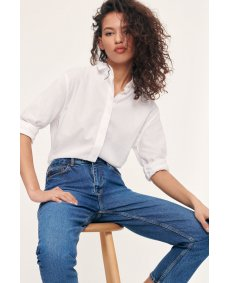 Samsoe Samsoe Caico 2634 basis blouse white
