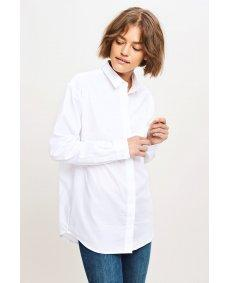 Samsoe Samsoe 2634 Caico basis blouse white