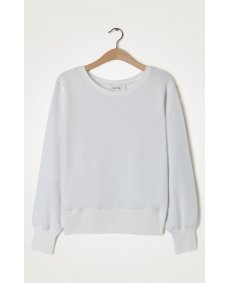 American Vintage FO03 blanc sweater