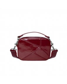 HVISK Medley transparante tas wine red