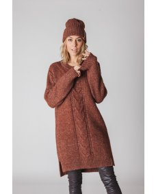 Moscow design FW19 63.04 beanie muts earth