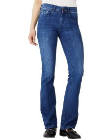 Lois SS19 Melrose flare jeans teal stone