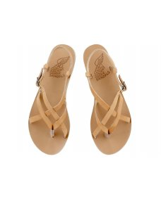 Ancient Greek Semele sandals natural