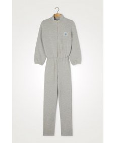 American Vintage OMI12 jumpsuit polaire chine