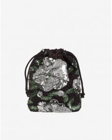 HVISK Pouch water lily etui black