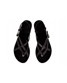Ancient Greek Semele sandals black