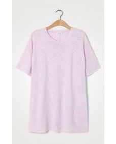 American Vintage SON33BG baby lilas oversized top