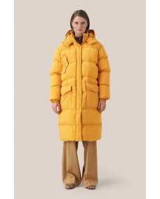 Second Female FW19 spin puffer jas inca gold