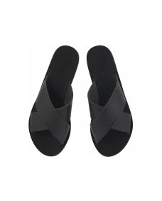 Ancient Greek Thais sandals black