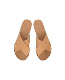 Ancient Greek Thais sandals natural