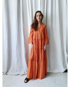 Devotion Long dress Ella 0203092G jurk orange