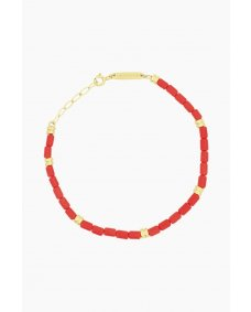 Wildthings Coral armband gold