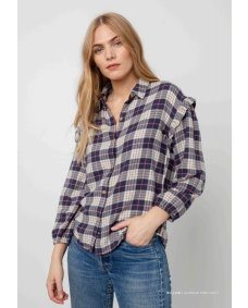 Rails Willow almond pink navy blouse