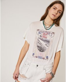 Iro Paris Lynx T-shirt cloudy white