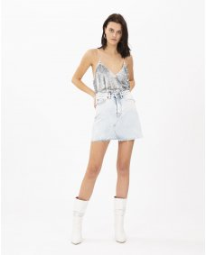 Iro Paris Amatory denim rok snow bleach