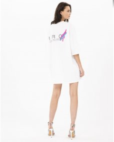 Iro Paris Acute shirt dress white