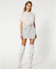 Iro Paris Senti rok grey white