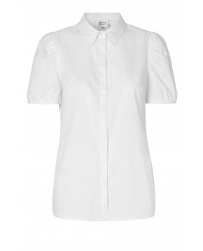 Second Female Glasglow blouse bright white