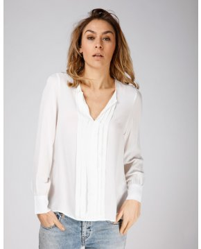 Moscow design SS19 21.01 blouse off white