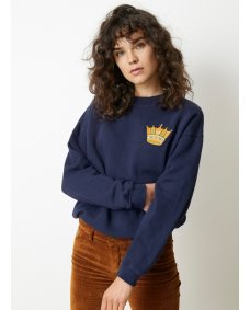 Lois Crown navy roy trui