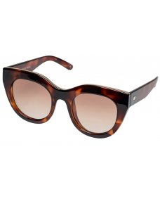 Le Specs SS19 air heart zonnebril toffee tortoise