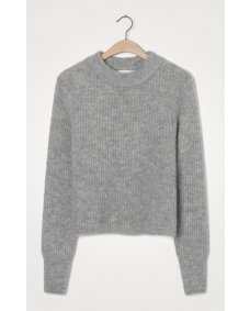 American Vintage EAST18CH trui gris chine