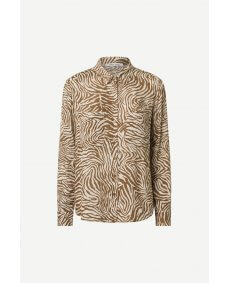 Samsoe Samsoe Milly 2021 mountain zebra 7201 blouse