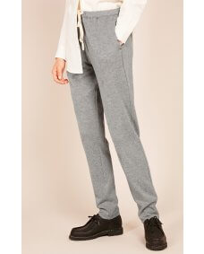 American Vintage FEEL199 jogger gris chine