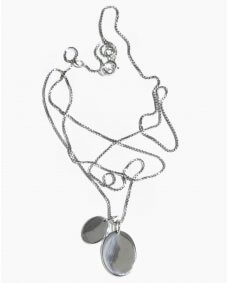 Fashionology Braque ketting silver